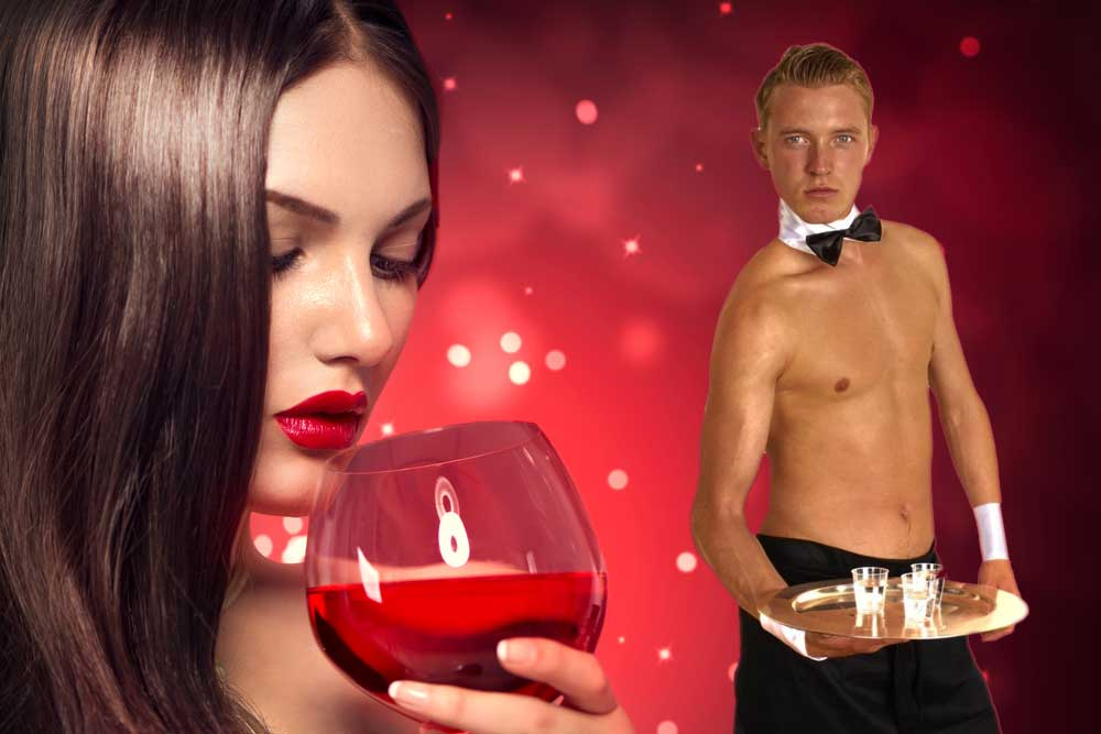 Hen Party Activity - Butler & Wine Tasting