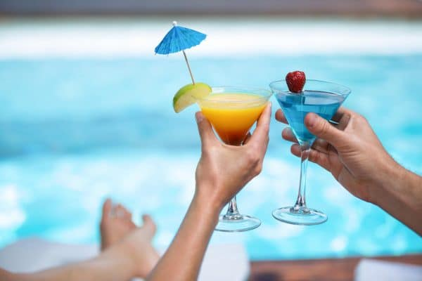 Hen Party Activity - Villa Pool Drinks