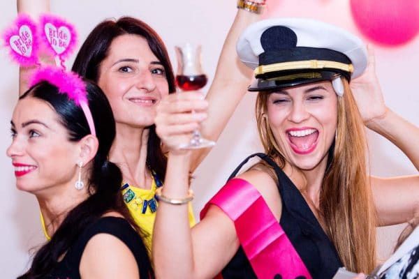 Hen Party Activity - Partying