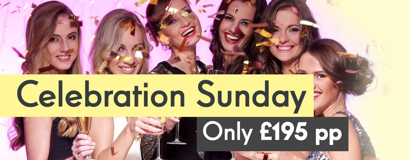 Hen Party Celebration Sunday Offer